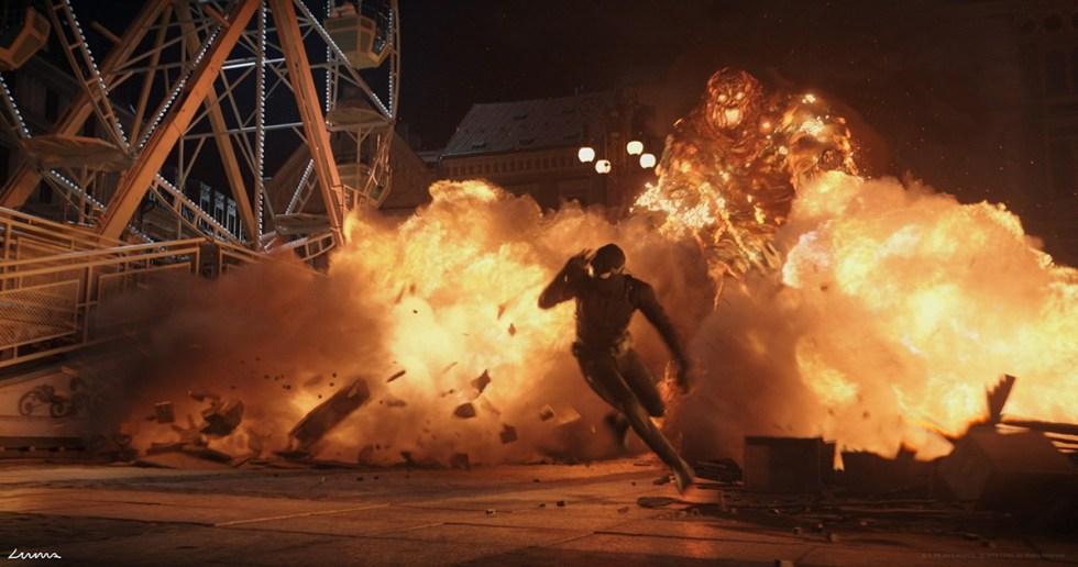 《蜘蛛侠:英雄远征》另一个关键场景