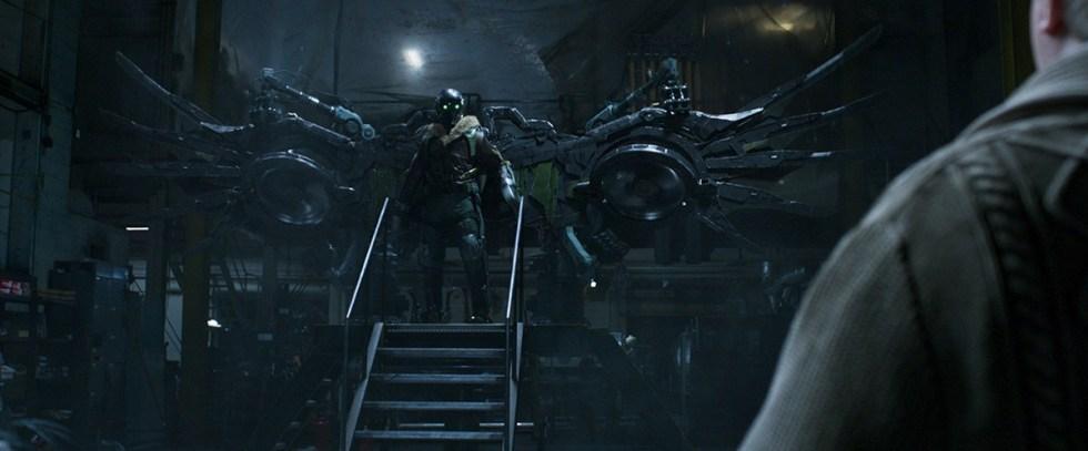 Luma Pictures制作的《蜘蛛侠:英雄归来》最终视觉效果