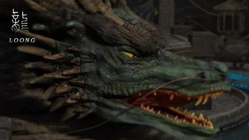 3D动画短片《龙》海报-Renderbus【云渲染农场】