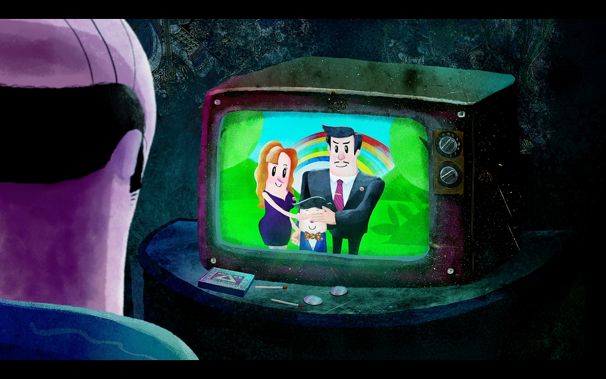 瑞云渲染直播预告:豆瓣高分冷门黑色幽默动画是怎么炼成的