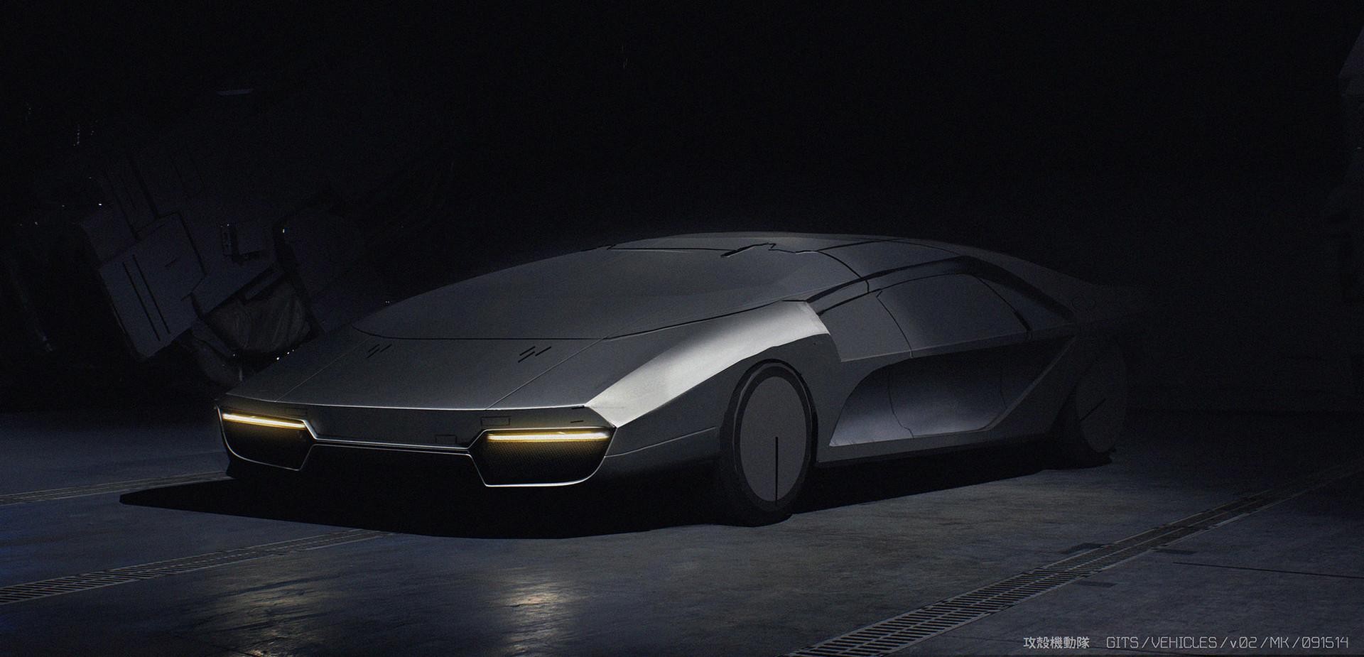 电影《攻壳机动队》车辆概念设计-Renderbus云渲染农场