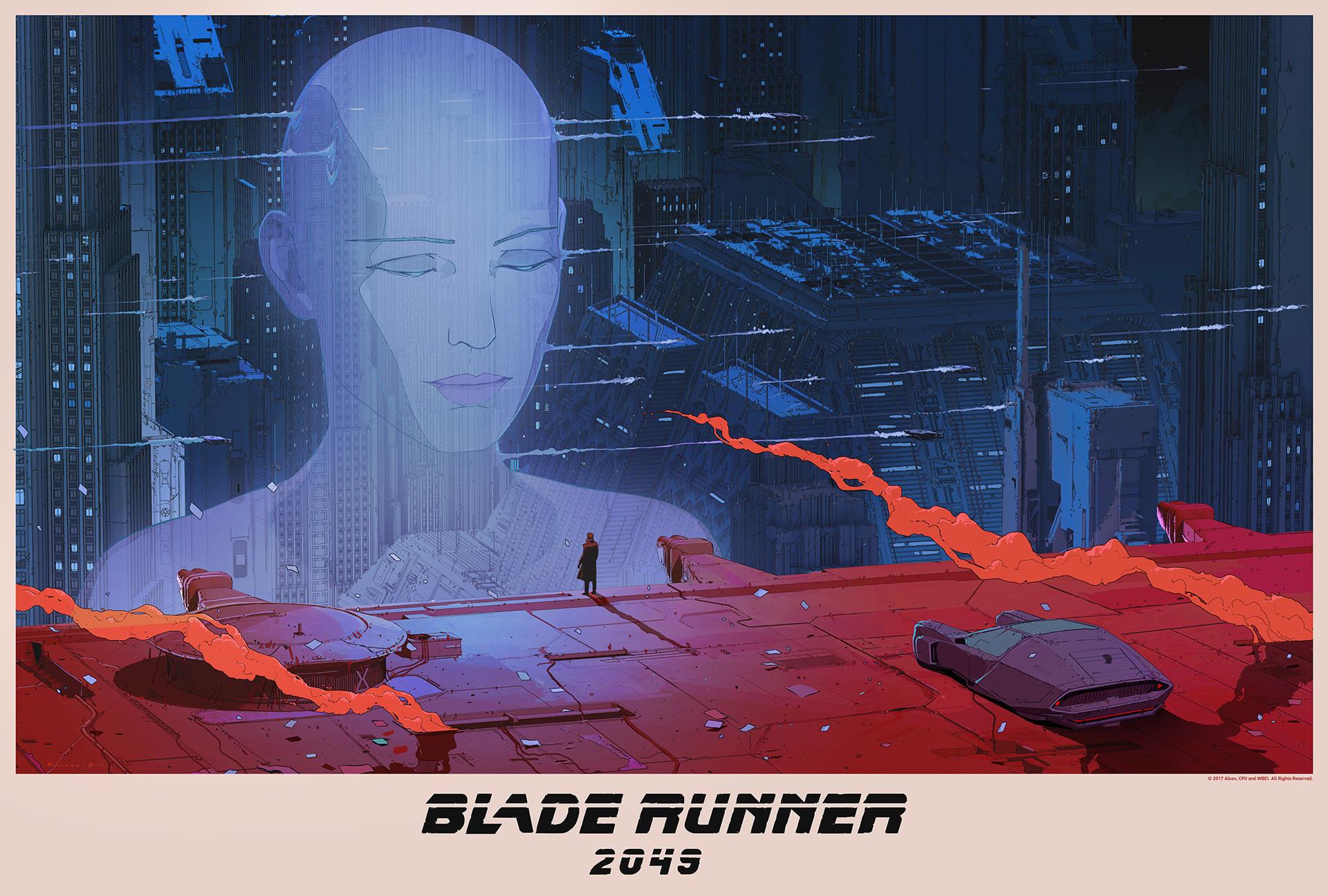 《银翼杀手2049》海报设计1-Renderbus云渲染农场