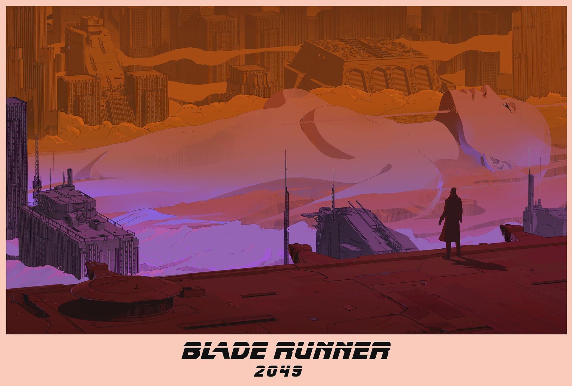 《银翼杀手2049》海报设计2-Renderbus云渲染农场