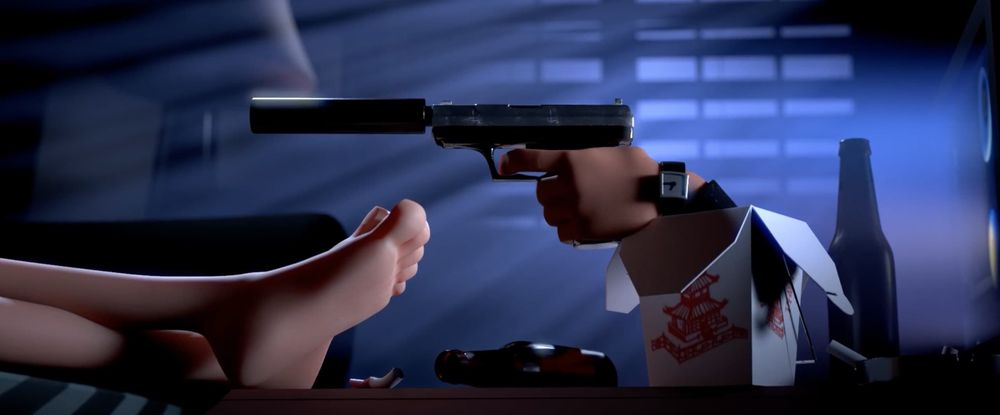 影片《Box Assassin》场景
