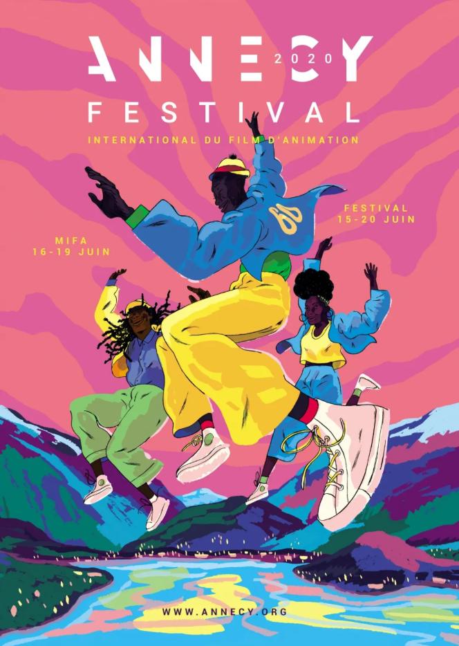 2020年法国昂西国际动画节官方海报