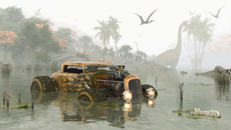 Survivor Dinosaur © Vahid Montazeri