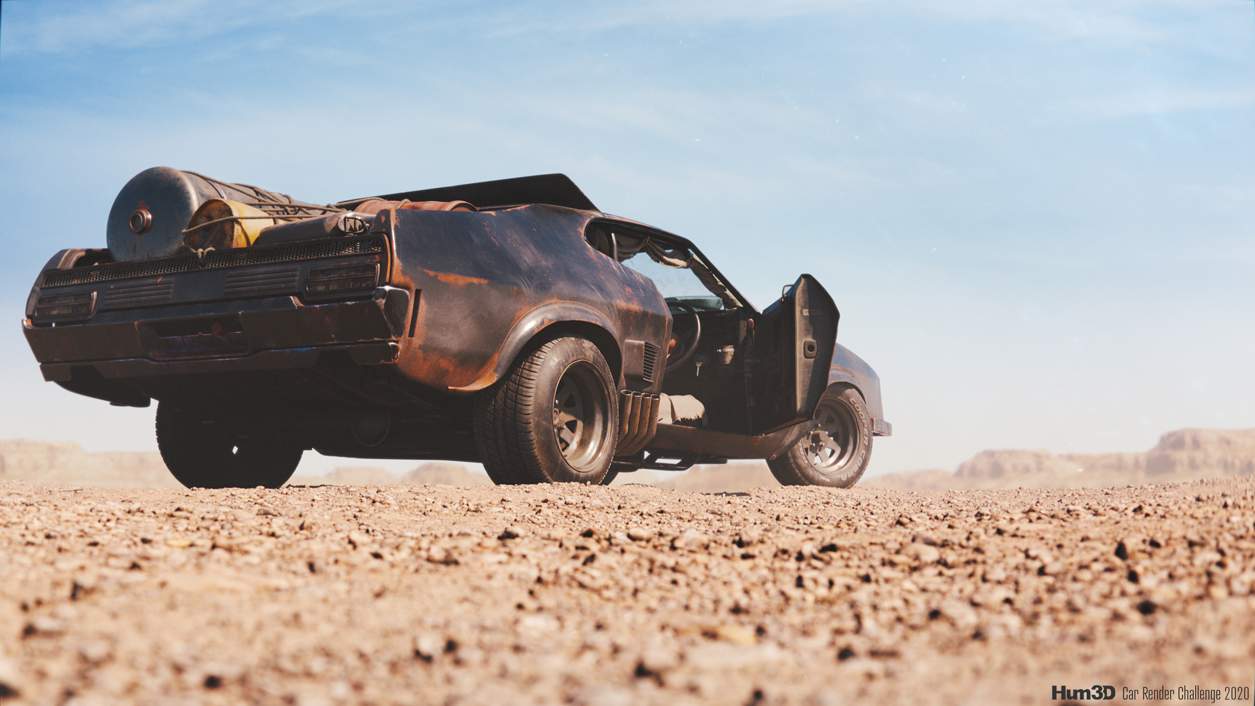 Ford Falcon XB GT – tribute to Mad Max © Krzysztof Fendryk
