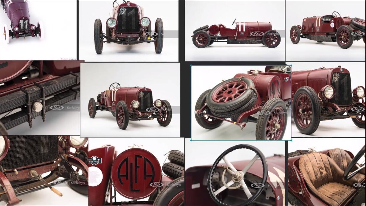 汽车模型参照图-瑞云渲染