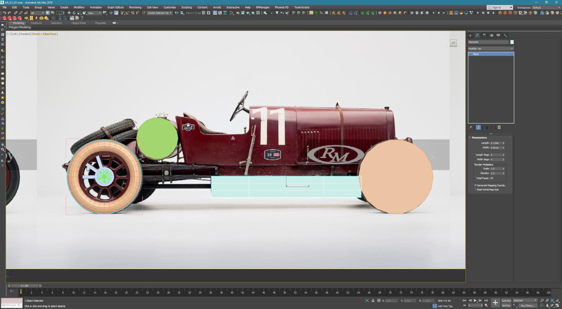 汽车模型制作-瑞云渲染