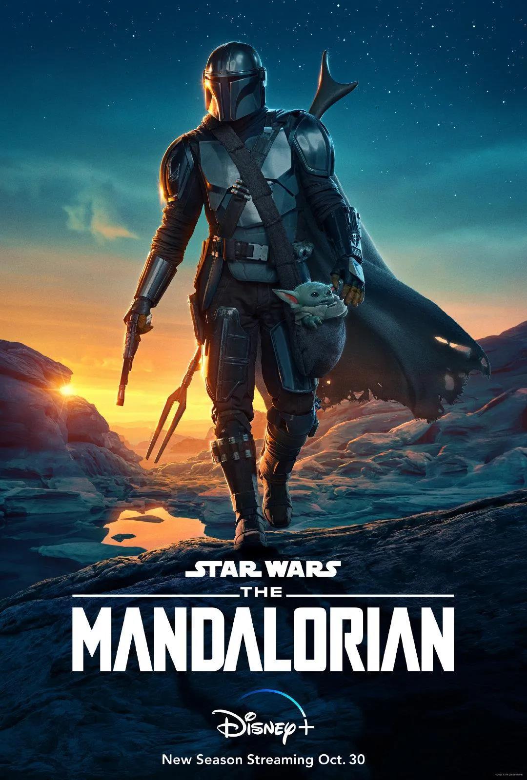 《曼达洛人》电影海报