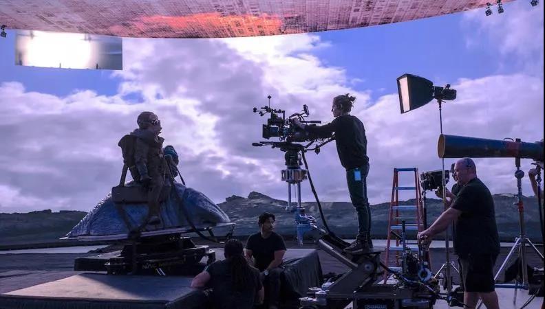 《曼达洛人》拍摄场景