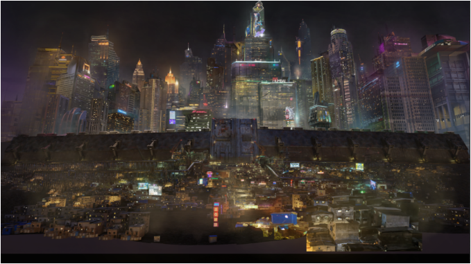 中景和背景绘景的最终效果图-Renderbus瑞云渲染农场
