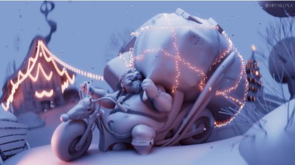 Heavy Metal Santa © Vinicius Villela