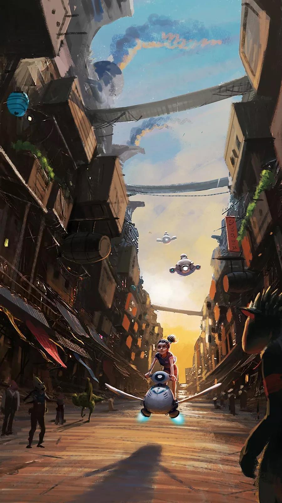 《星际快递》创作中的参考有哪些?