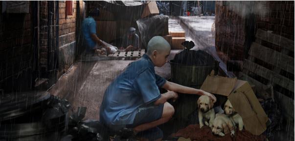 瑞云渲染专访:如何在Blender中创建Norman Rockwell风格的CG场景