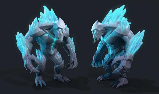 《Frozen Flame》 - 瑞云渲染