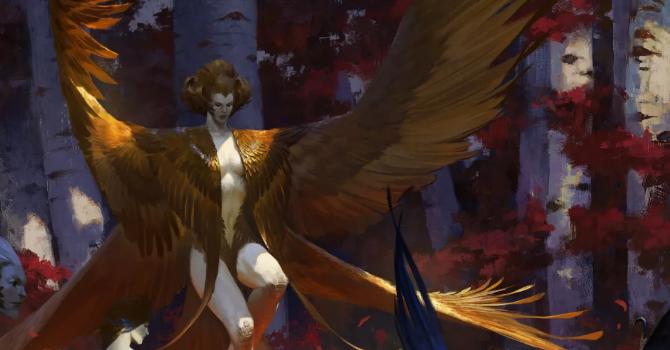 Harpy Queen © Bayard Wu