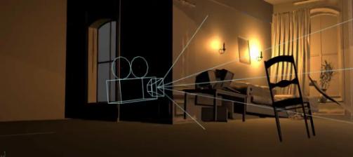 使用了动态相机设置来营造真实的相机运动