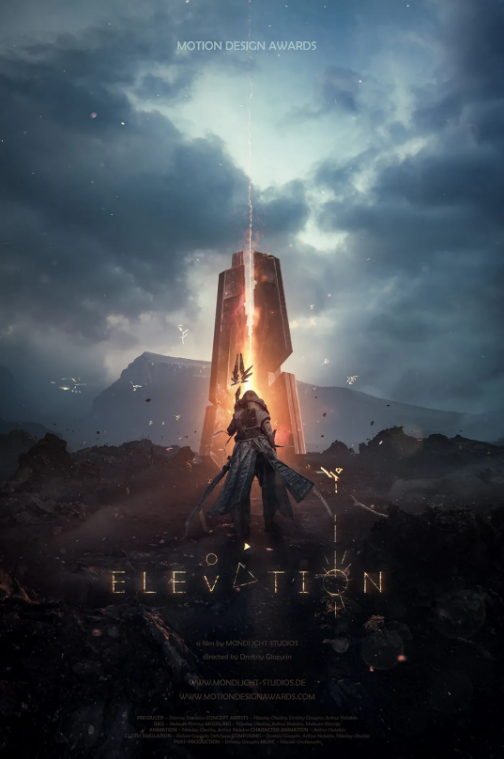 《Elevation》海报 - Renderbus瑞云渲染农场