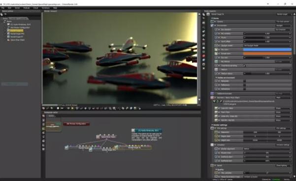 使用低样本进行预览动画可以节省大量时间
