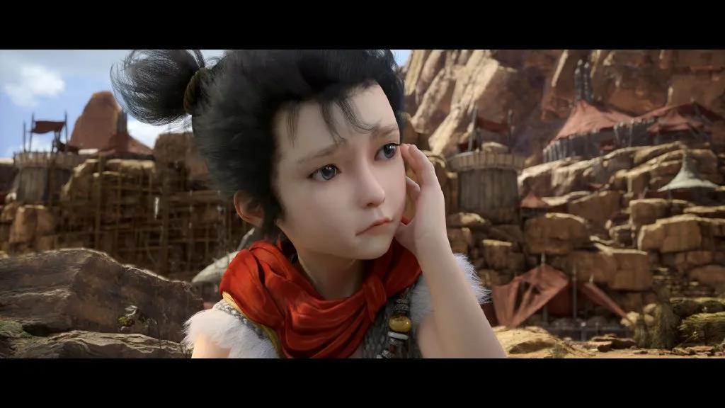 《完美世界》主角石昊 - 瑞云渲染