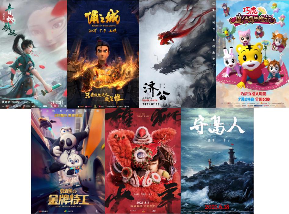 缤纷暑期档,瑞云添光彩!暑期档大电影你最期待哪一部?