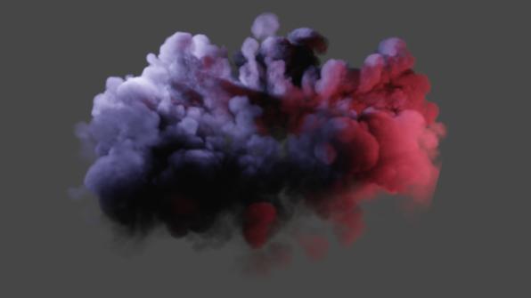新版本Eevee体积渲染效果 - Renderbus瑞云渲染农场
