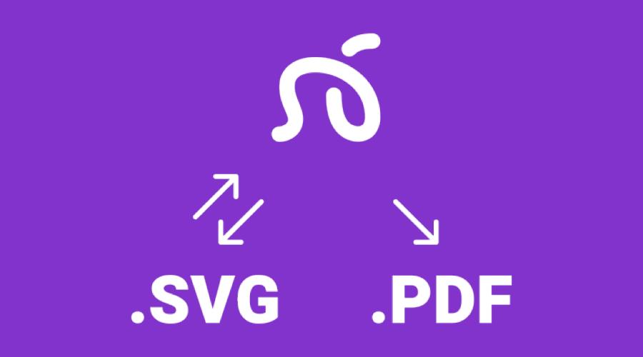 可以导出为SVG和PDF格式的文件 - 瑞云渲染