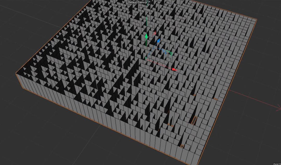 迷宫形状就初见雏形 - 瑞云渲染农场
