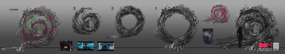 《太空群落》场景视效动态演示 - 瑞云渲染