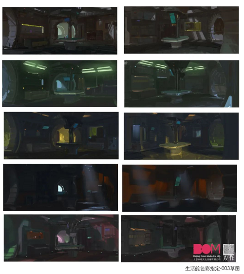 国产科幻惊悚电影《太空群落》视效制作大放送 - 瑞云渲染