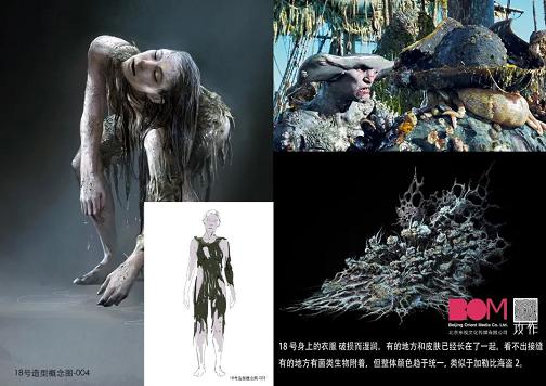 《太空群落》外星人角色设计 - 瑞云渲染