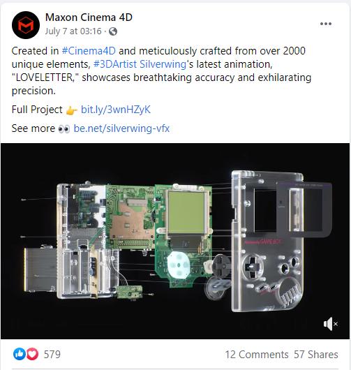 高度还原!C4D官方发帖宣传的3D作品是怎么做成的