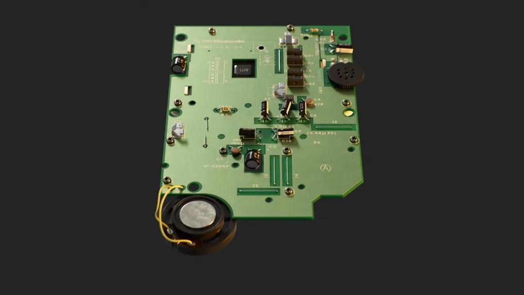 PCB反面建模 - 瑞云渲染