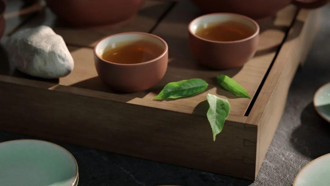 Chinese Tea - 瑞云渲染