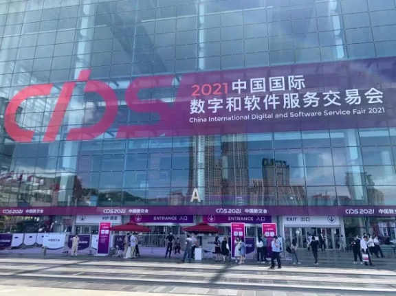 2021年中国国际数字和软件服务交易会 - 瑞云渲染