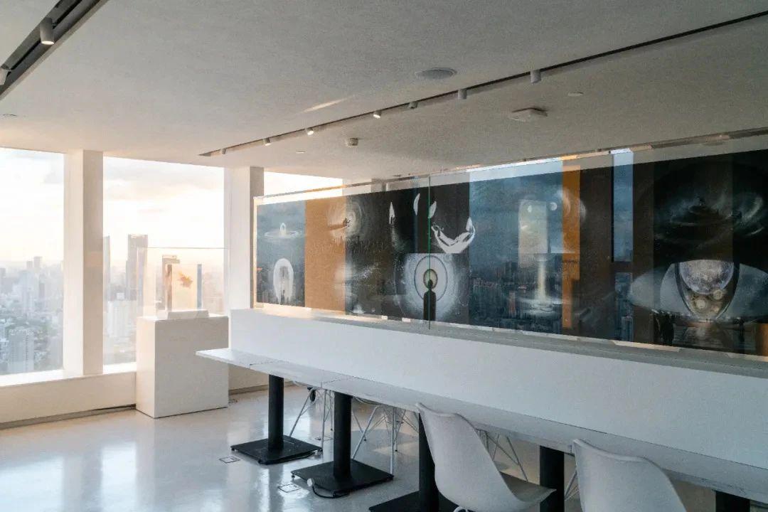 """""""非此即彼 似是而非——2021首届4C建筑与设计创意展""""展览现场"""