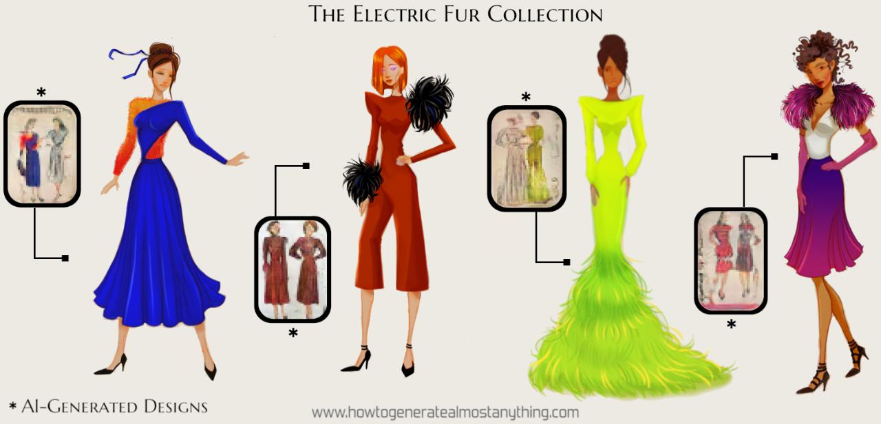 AI结合服装设计 - 瑞云渲染