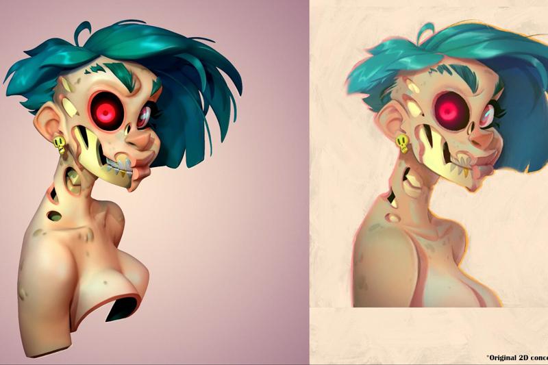 将概念艺术转化为3D角色有哪些注意事项?(下)