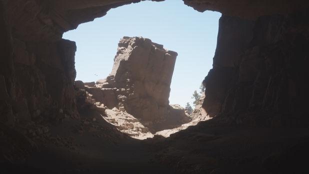 UE4中的光线追踪和SSGI照明研究-山洞