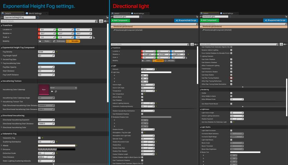 UE4中的光线追踪和SSGI照明研究-参数设置