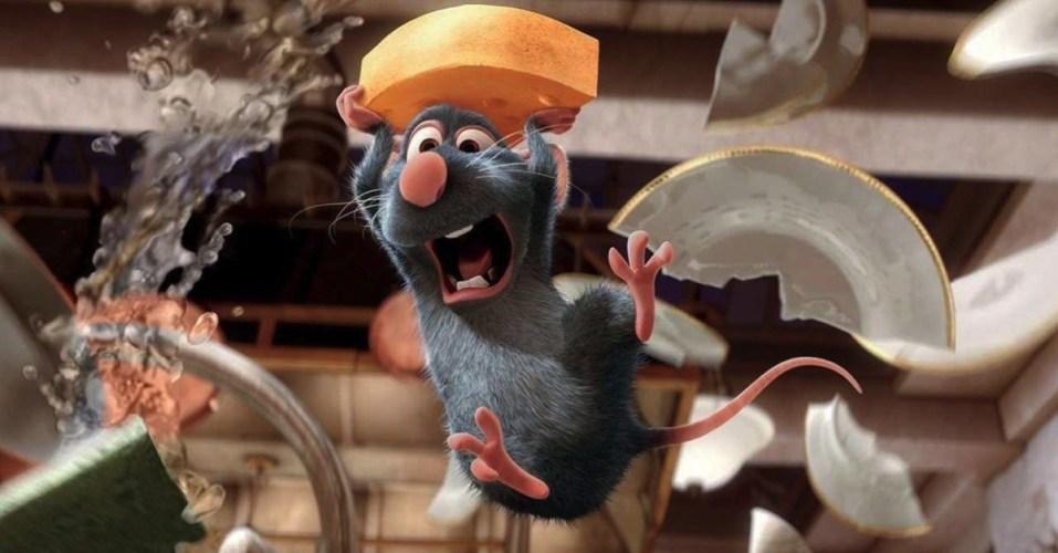 RenderMan:《美食总动员》中老鼠雷米的毛发制作
