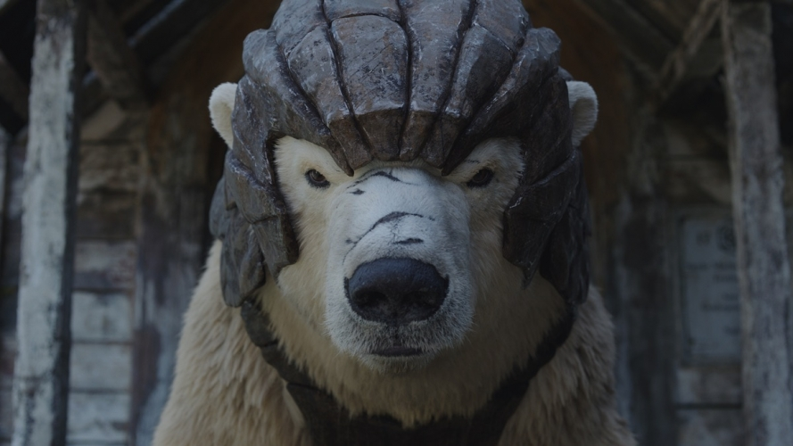 FRAMESTORE视效工作室是如何打造荧幕上的各种熊的_电影《黑暗物质》中的披甲熊
