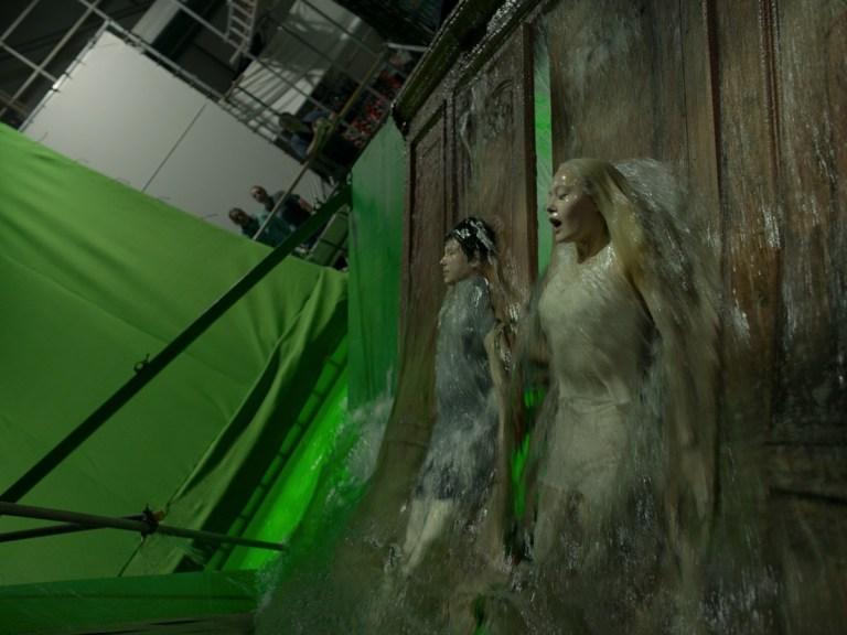 流体模拟大佬Scanline VFX 分享CG电影视觉特效秘笈-电影《佩小姐的奇幻城堡》渲染前