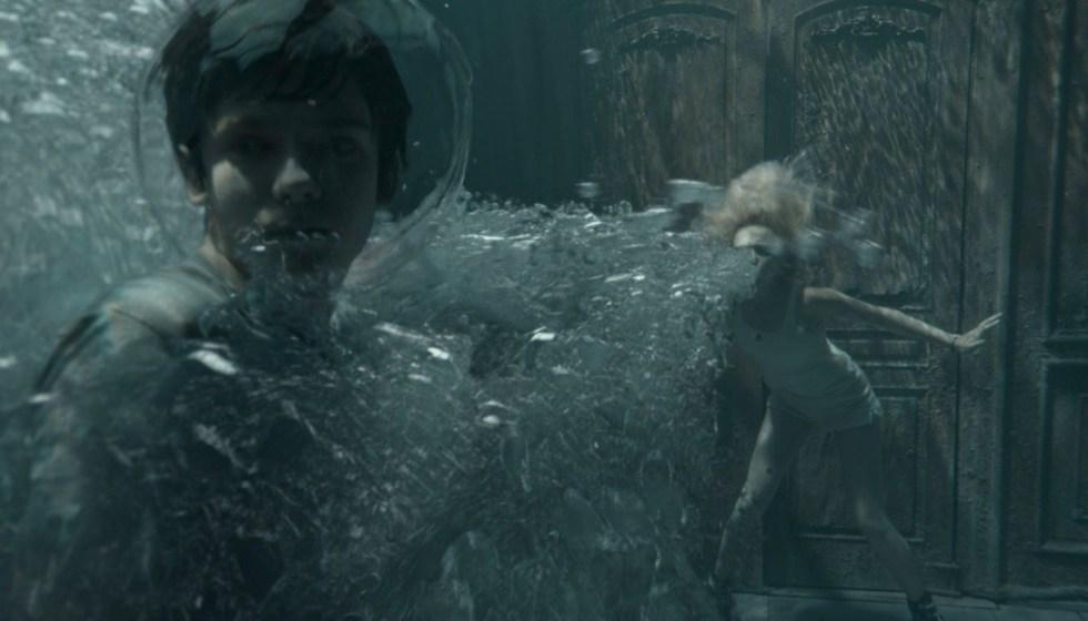 流体模拟大佬Scanline VFX 分享CG电影视觉特效秘笈-电影《佩小姐的奇幻城堡》水下特效镜头
