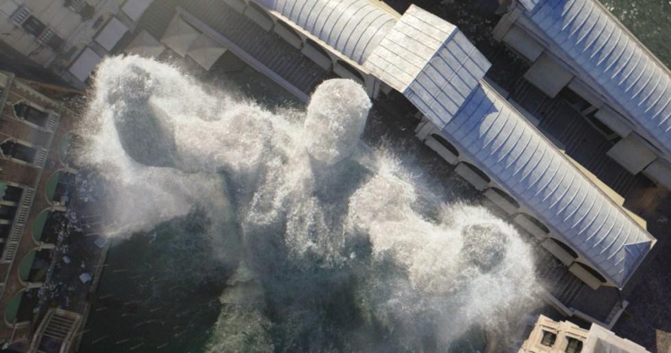流体模拟大佬Scanline VFX 分享CG电影视觉特效秘笈-电影《蜘蛛侠:英雄远征》特效渲染效果图