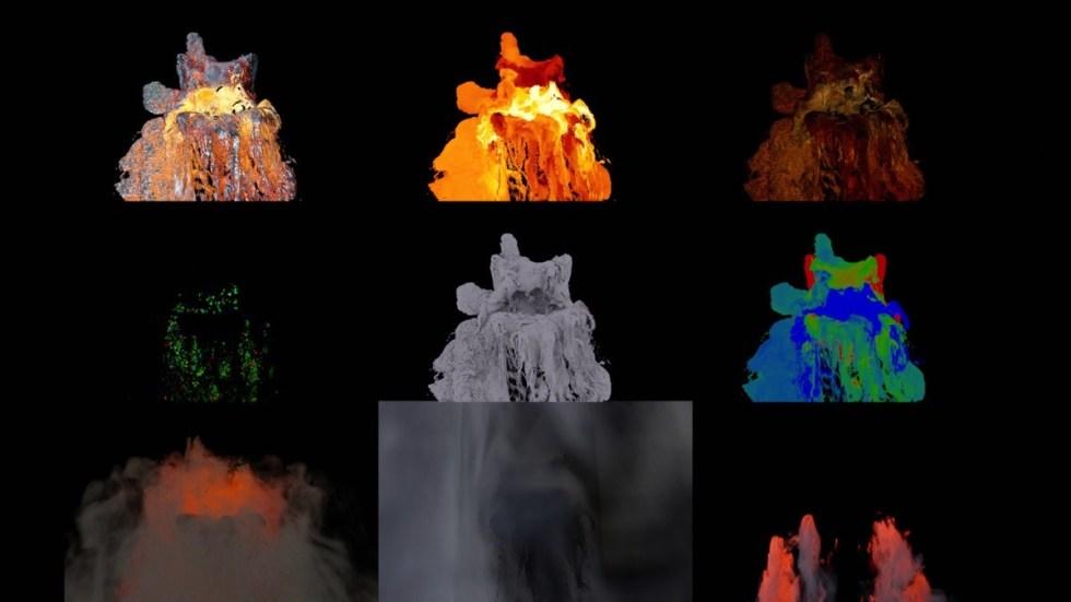 流体模拟大佬Scanline VFX 分享视觉特效秘笈_电影《权利的游戏》视觉特效渲染制作
