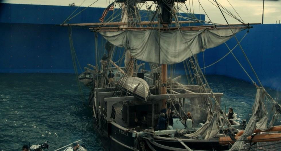 流体模拟大佬Scanline VFX 分享CG电影视觉特效秘笈-电影《海洋深处》特效渲染前效果图