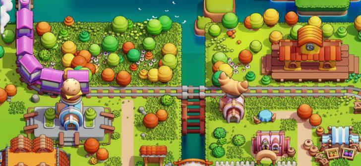 Blender制作游戏像素风格小城镇