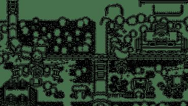 Blender制作游戏像素风格小城镇-分层渲染图合成的基本设置